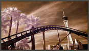 The Stratosphere and Roller Coaster, Las Vegas, Nevada