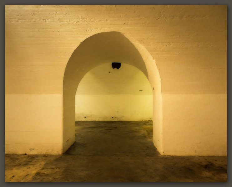 Principal Magazine, Archway to the South Chamber, Fort Moultrie, SC