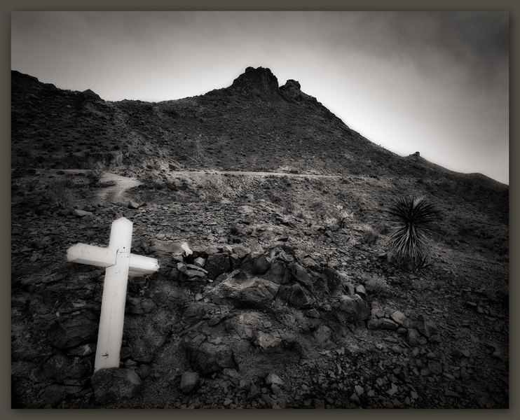 Desert Cemetery, Old Route 66, Arizona