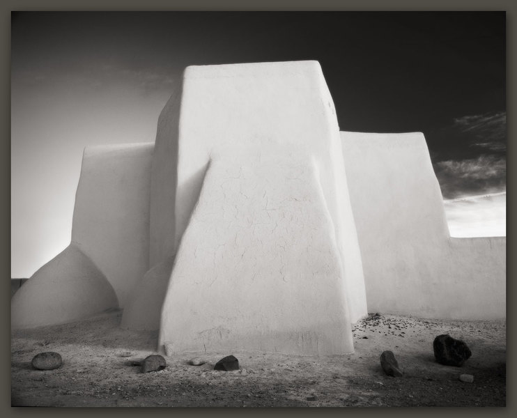 St Francis of Assisi Church #2, Ranchos de Taos, New Mexico