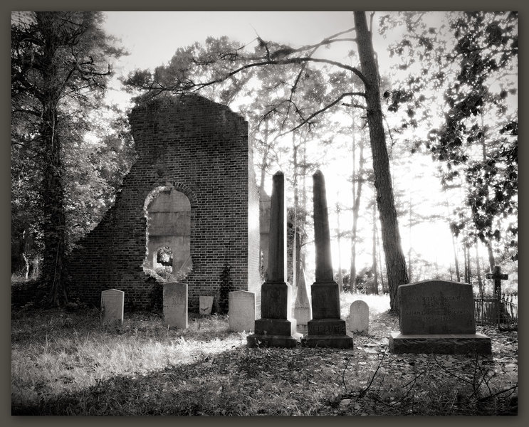Ruins of Pon Pon Chapel of Ease, South Carolina