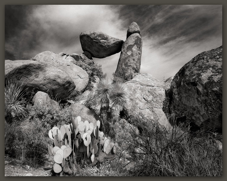 Balanced Rock, Big Bend National Park, Texas